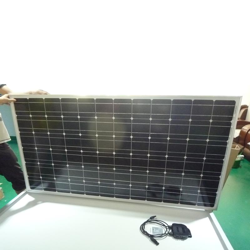 Cheap Price Hot Selling 24V Mono 300Wp Solar Panel Price With CE ROHS