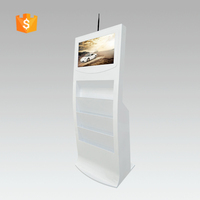 "21.5"" led video advertising display with brochure holder (SAD2105L)"