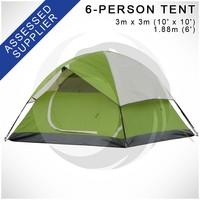 "Camping Tents for 6 Person (Eaglesight OEM Order) - SIMILAR to ""C0LEman Sundome 6-Person Tent"""
