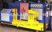 Rail normalizing machine