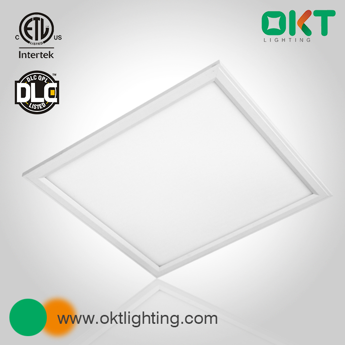 OKT DLC approved High efficiency factory price LED commercial panel light