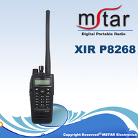 XIR P8268 wireless radio dual band vhf&uhf digital two way radio with GPS
