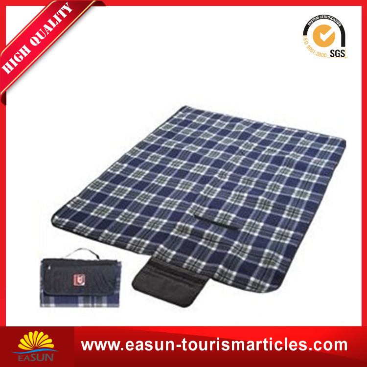 Wholesale cheap black portable waterproof outdoor picnic blanket