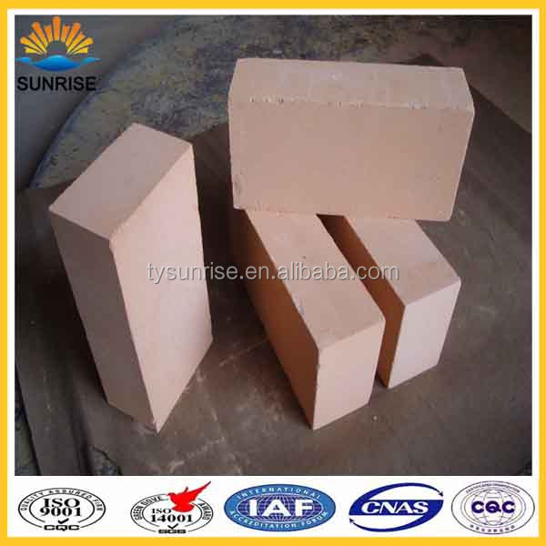 Ladle Lining High Alumina Low Creep Refractory Brick