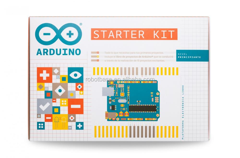 Arduino Original Package Micro-controller Starter Hands-on Way Kit for Robot