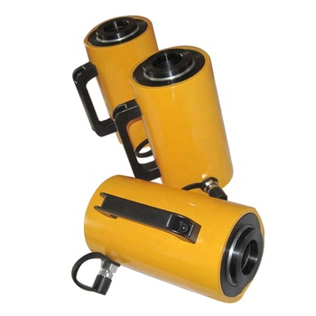 10 ton single acting hydraulic cylinder for Mechanical maintenance engineering