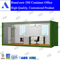 High quality customized new shipping container office 20 ft for sale