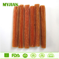 Salmon Spiral Sticks (12cm) Bulk Wholesale Dry Pets and Dogs Food OEM and Private Label Dog Training Treats Dog Snacks