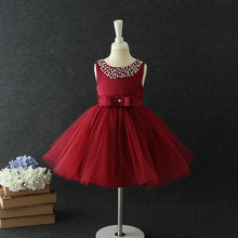 Online latest fashion dress design beautiful model girl gown kids party wear dresses