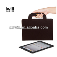 Best selling Business type leather mobile phone case for ipad