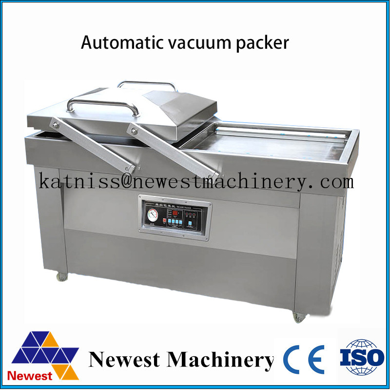 Mini fruit vacuum packaging machine/packing machine with double chamber/chamber vacuum sealer