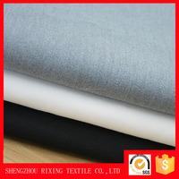 Widely used polyester woven plain T /R two-way stretch fabric for Men's gloves