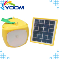 SL04 Portable multi-function rechargeable home solar led lantern