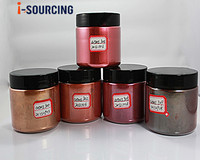 Painting iron oxide type concrete pearlescent pigment