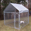 China wholesale factory Canada standard dog kennel /iron fence dog kennel
