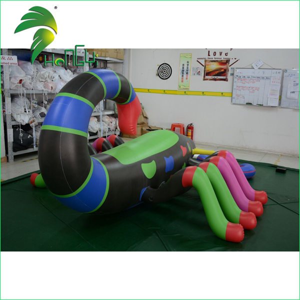 Large Customized PVC Inflatable Scorpion Toy / Colorful Printing Inflatable Moving Animal Cartoon