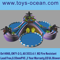 interesting water game/inflatable water park/inflatable mini swimming pool for kids
