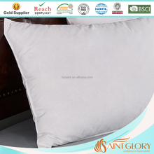 China Wholesale Standard Size Silicon Fiber Pillow Synthetic Bed Pillow Insert