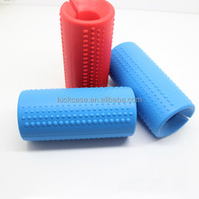 Factory Wholesale Durable Professional Fitness Hand Weight Lifting Body Training Goods Silicone Dumbbell Barbell Handle Grip