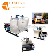 Hydraulic double-cylinder Thermoplastic paint melting machine