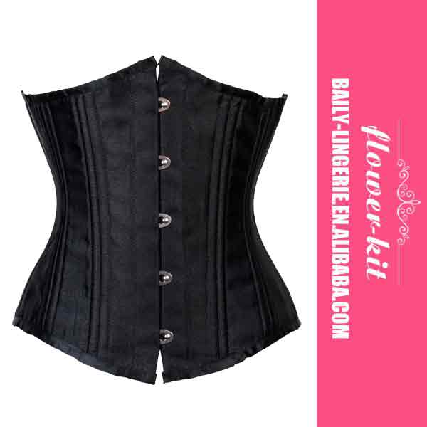 In Stock Sexy Coset Factory Price Steel Boned Corset For Women