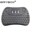 T2 Backlit mini keyboard Wireless Keyboard 2.4G with Touchpad Handheld Keyboard for smart tv box