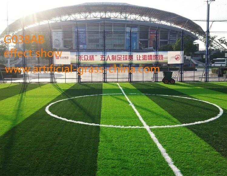 UV-resistant natural mini football field /soccer field artificial grass price