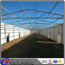 Light Prefab Steel Structure Pig Farming House Drawing