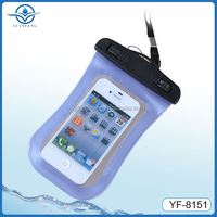 Promotional gift lively waterproof mobile case for iphone 4 5