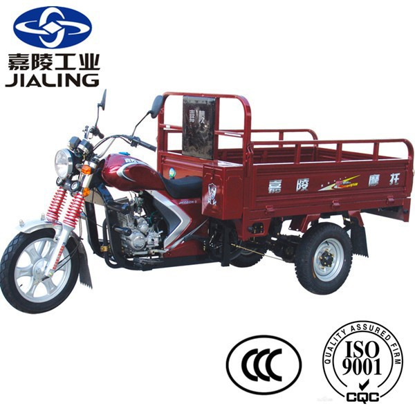 China JIALING 3 wheel motorcycle, cargo tricycle for sale in Indonesia