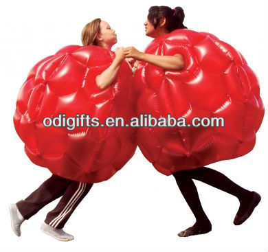 PVC inflatable buddy bumper ball for bumper games