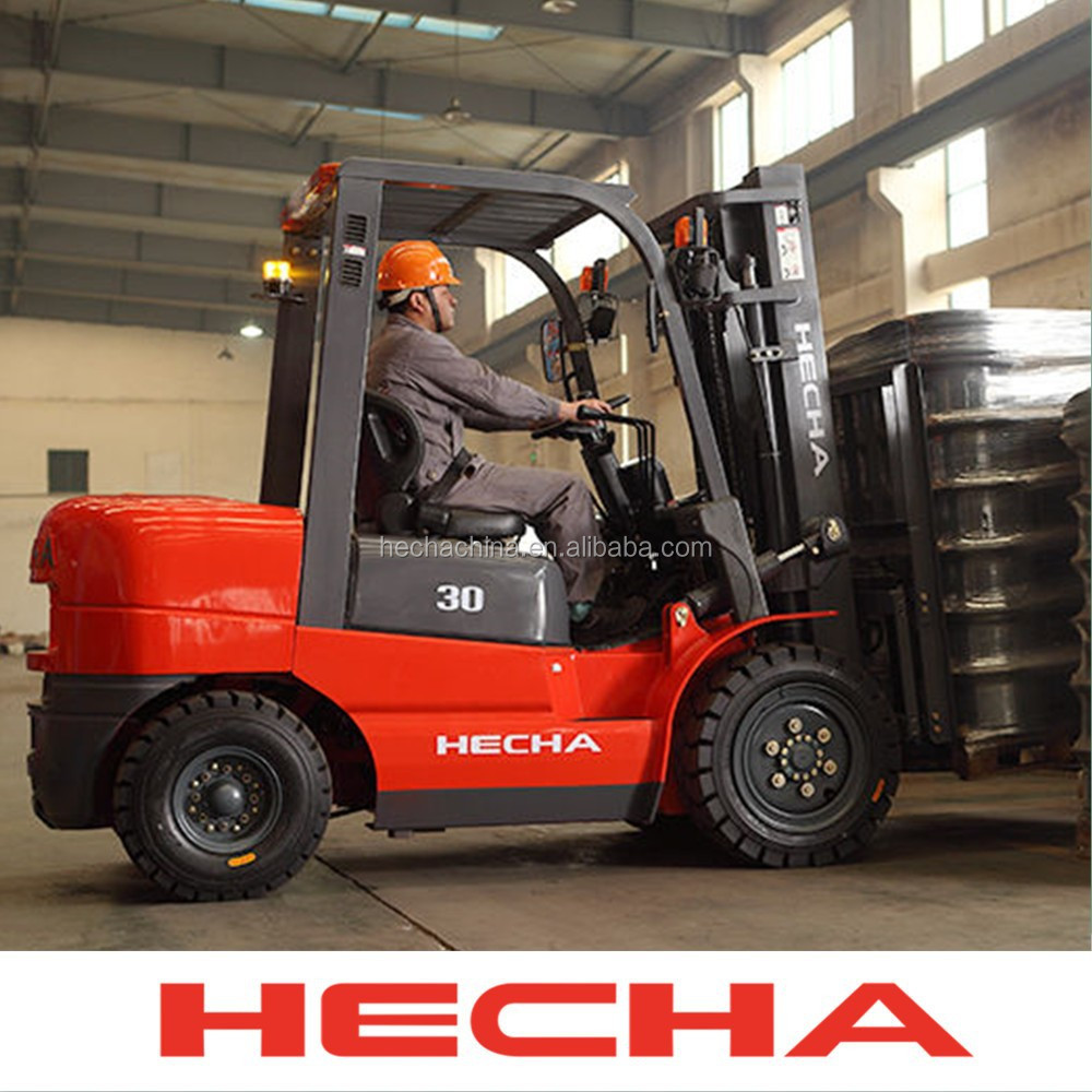 3 Ton Automatic transmission diesel forklift solid tyre forklift tyre