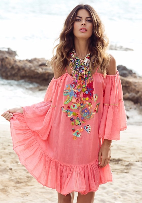 resort wear kaftan