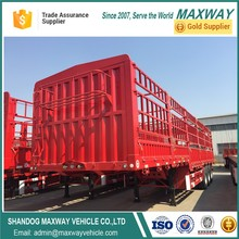 Animal carrier 3 alxe fence cargo trailer for sales