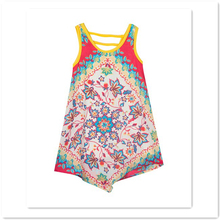 floral print bow tunic - toddler latest dress designs for flower girls