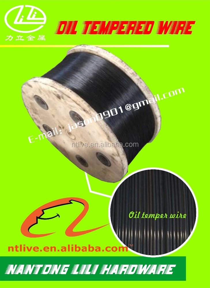 Oil Quenched& Tempered Spring Alloyed Steel Wire