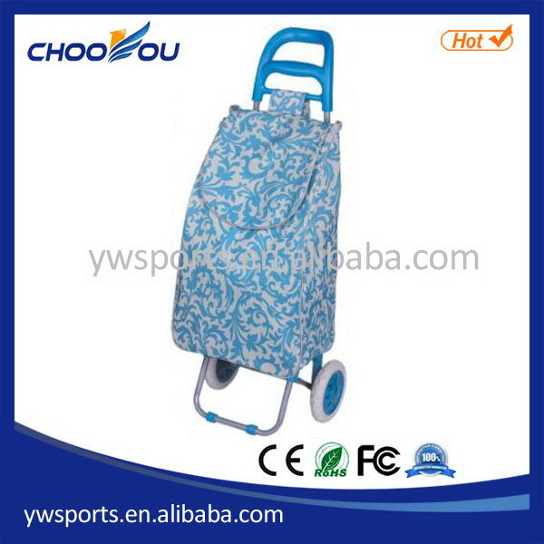 Cheapest latest push shopping trolley/cart