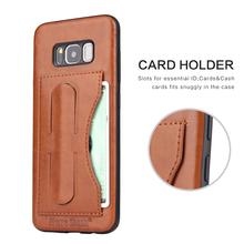 luxury phone case for Samsung galaxy s8,multi-function phone case