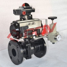 Flanged type ball valve china pneumatic valve