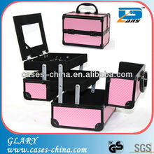 Cheap aluminum cosmetic beauty case,make up vanity cass
