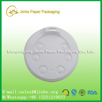 Hot selling 90mm plastic lids coffee paper cup cover