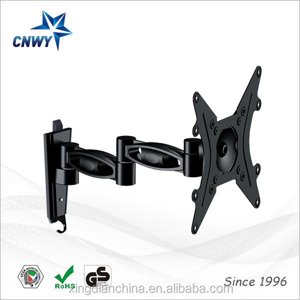 motorized swing down tv wall mount bracket for canade