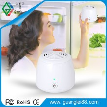 Pure white ABS material portable ozone Generator for fridge remove odor