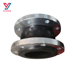 Single sphere acid resistance epdm rubber expansion flexible bellow joints