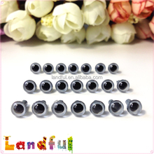 6mm Gray Toy Accessories Toy Parts Handicraft Doll Safety Eyes