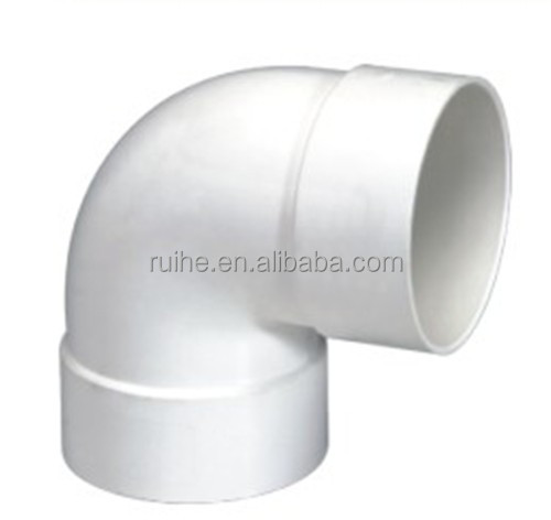 Zoll pvc fittings für wasserversorgung rohr zubeör
