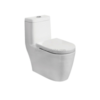 HS1031 Bathroom Ceramic Sanitary Ware One piece siphon wc toilet