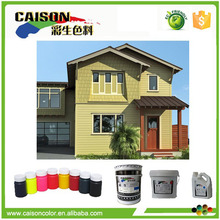 Low-voc Resin free pigment ink for paint a house exterior