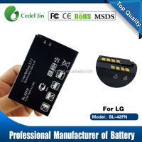 3.7V li-ion 18650 battery for LG BL-42FN C550 P350 P355 Optimus Me