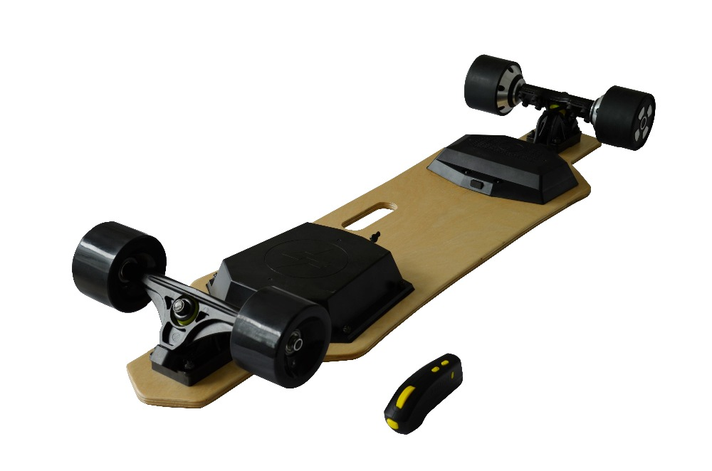 1200W and 90-120min Charging Time four wheel self balancing electric scooter/ electric skateboard